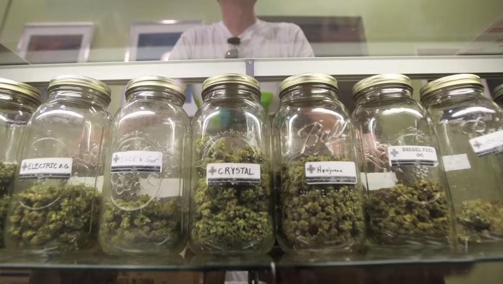 foto van diverse medische marijuana